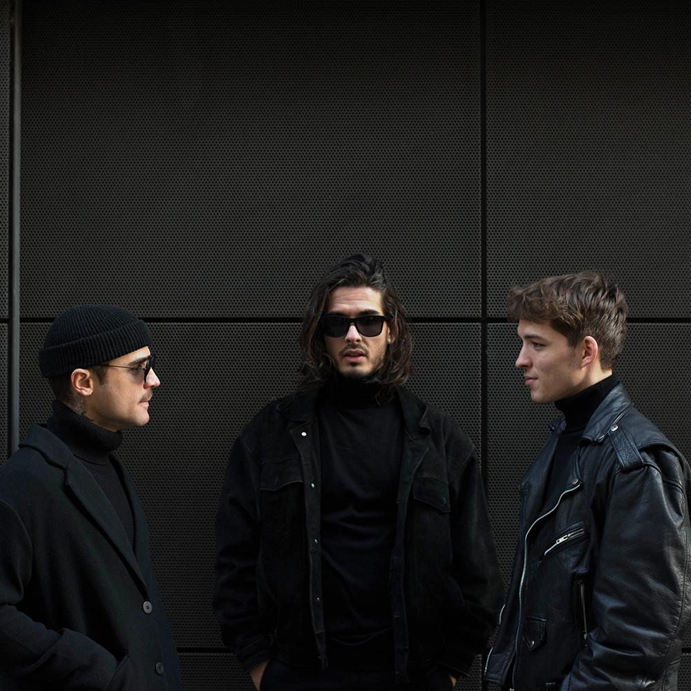 golan photo des trois membres