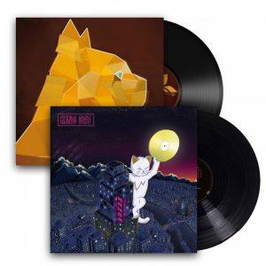 pack 2 vinyles - king cat/ skankin session 2