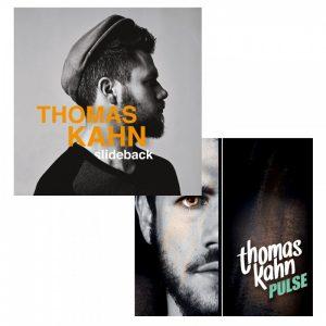 pack 2 CD Thomas Kahn Slideback/Pulse